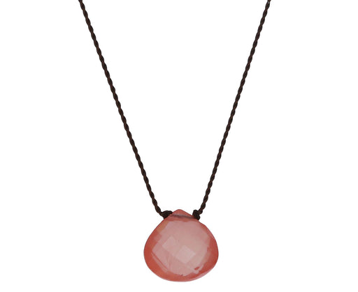 Sunstone Drop Necklace