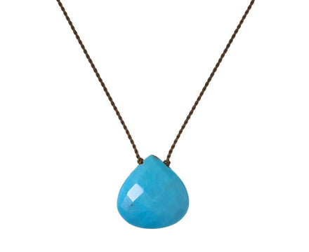 Turquoise Drop Necklace - TWISTonline