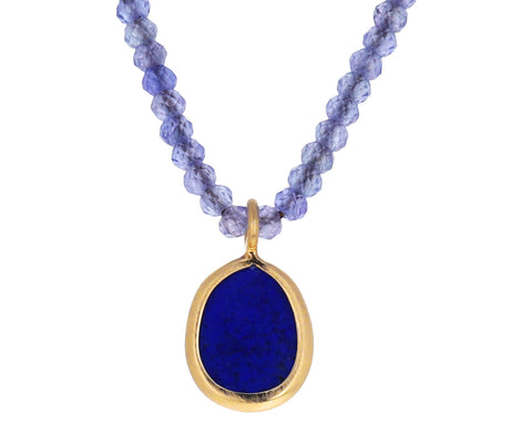 Lapis and Tanzanite Necklace