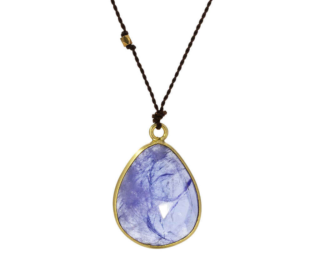 Tanzanite Slice Necklace