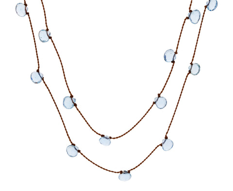 Floating Aquamarine Necklace - TWISTonline