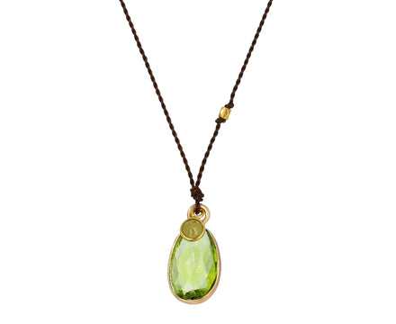 Peridot and Diamond Necklace - TWISTonline