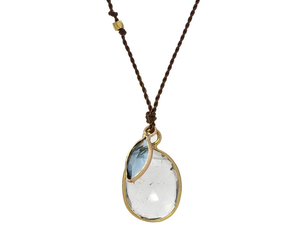 Blue Tourmaline and Blue Topaz Necklace - TWISTonline