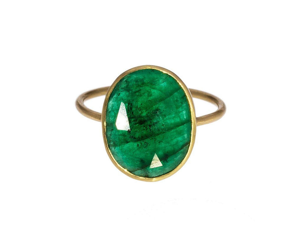 Oval Emerald Ring - TWISTonline