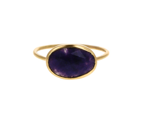 Purple Opal Ring