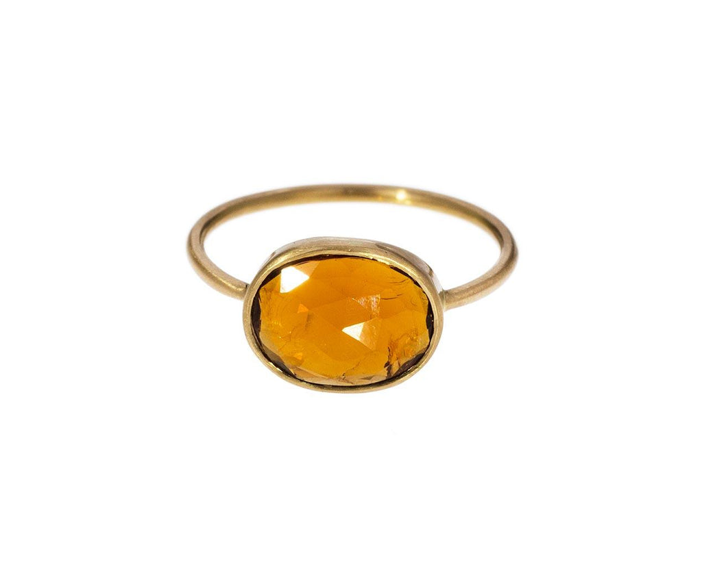 Burnt Orange Tourmaline Ring zoom 1_margaret_solow_gold_tourmaline_ring