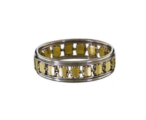 Men's Flow H Band with Gold Squares - TWISTonline