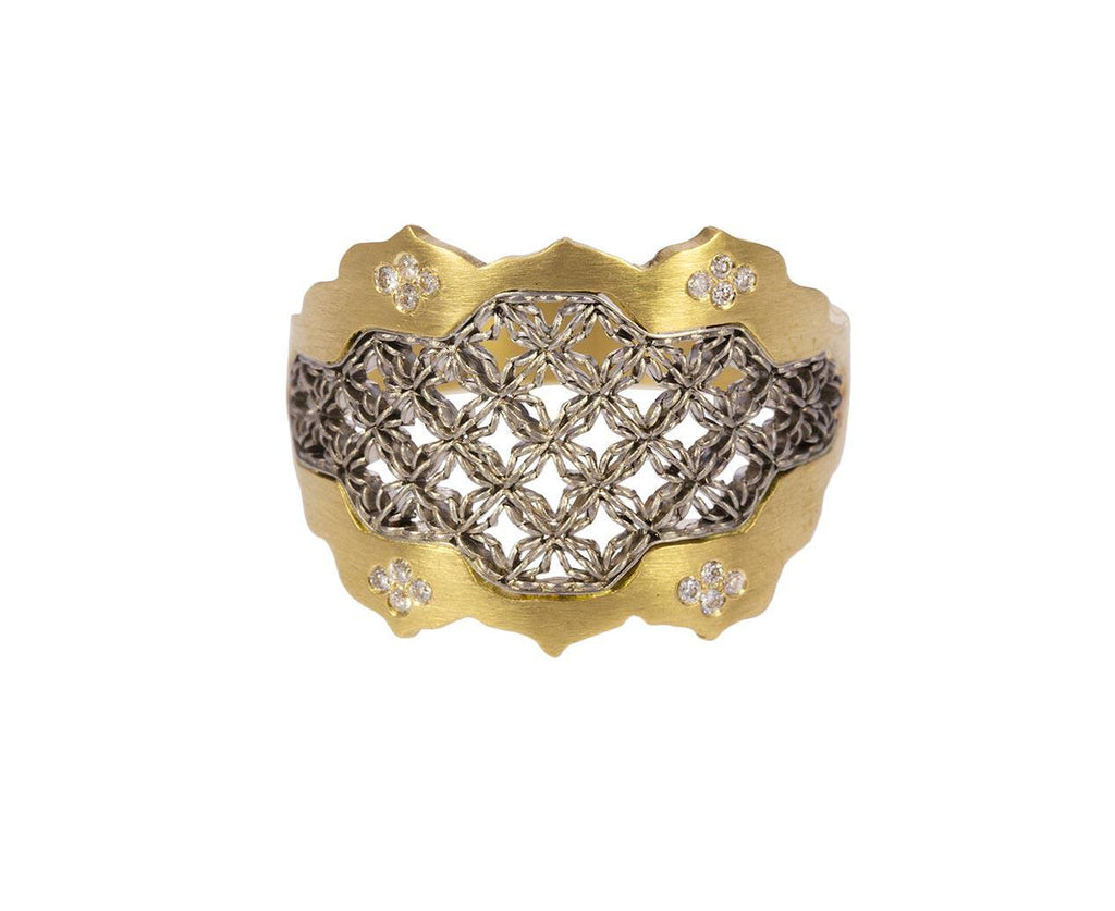 Large Diamond Damask Ring - TWISTonline