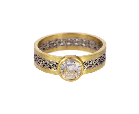 Diamond Solitaire Flow Ring - TWISTonline