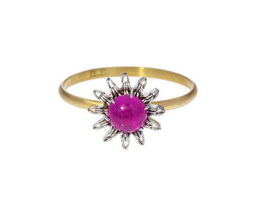 Cabochon Ruby Ring - TWISTonline