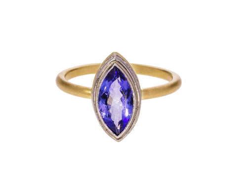 Tanzanite Marquise Ring - TWISTonline