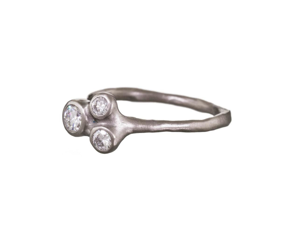 Triple Diamond Barnacle Cluster Ring - TWISTonline