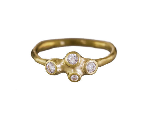 Diamond Barnacle Cluster Ring - TWISTonline