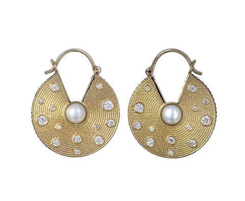 Inle Chanbali Hoop Earrings - TWISTonline