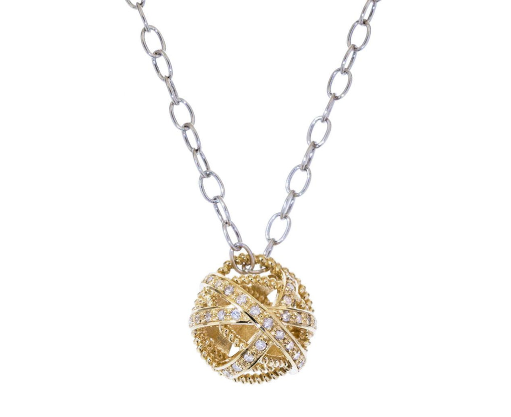 Small Diamond Ball Pendant - TWISTonline