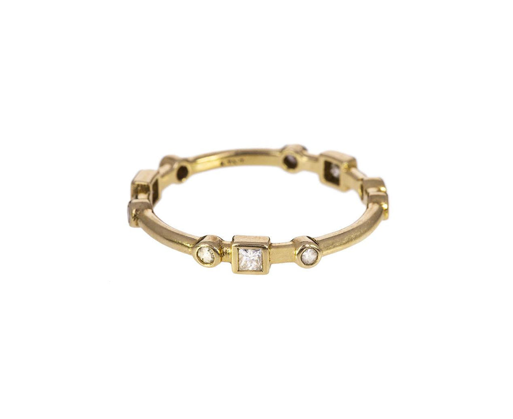 Geometric Diamond Band zoom 1_nancy_newberg_gold_round_square_diamond_ring