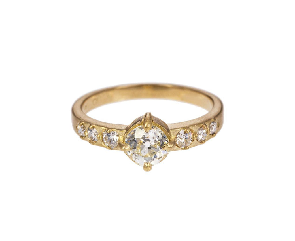 Old European Cut Diamond Solitaire - TWISTonline