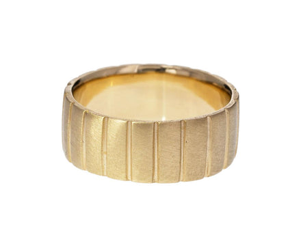 Men's Yellow Gold Bar Band - TWISTonline