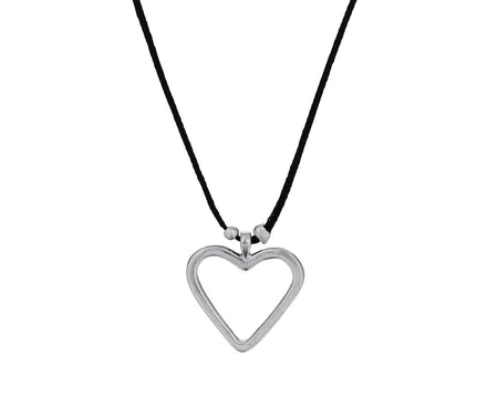 Small Open Heart Necklace - TWISTonline