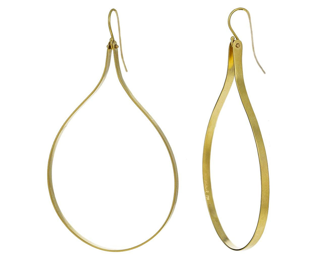 Gold Antiope Earrings zoom 1_jill_platner_gold_anitope_earrings
