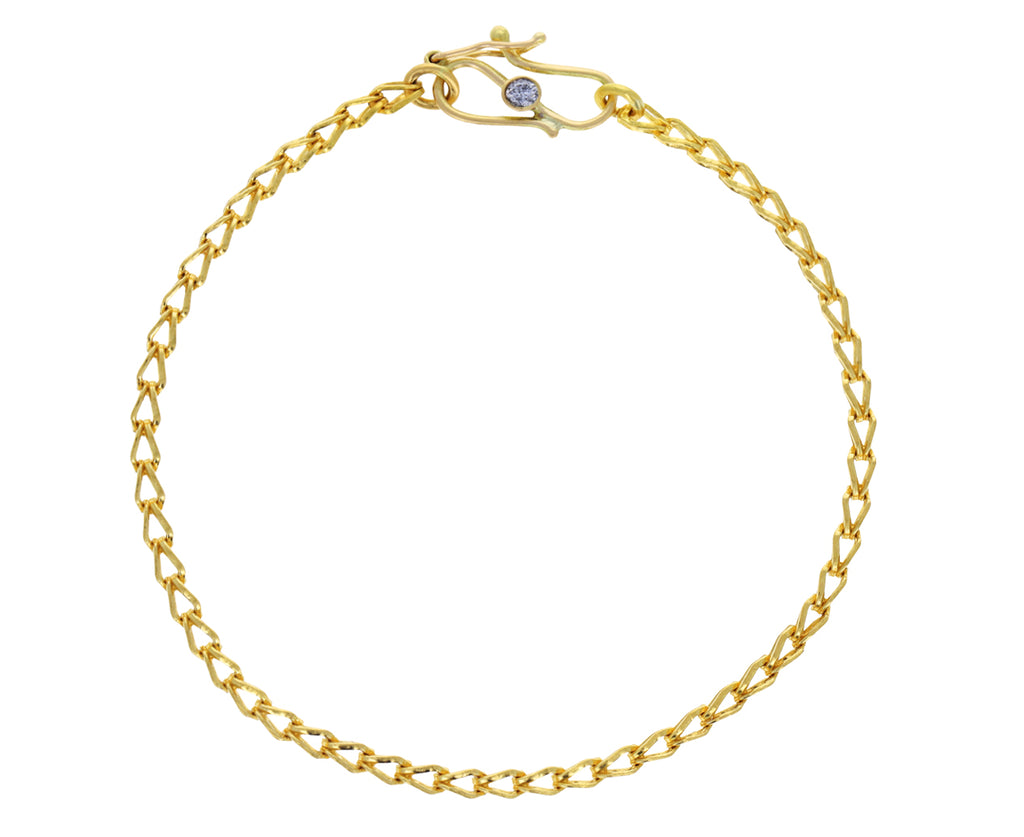 Solo Loop in Loop Chain Bracelet