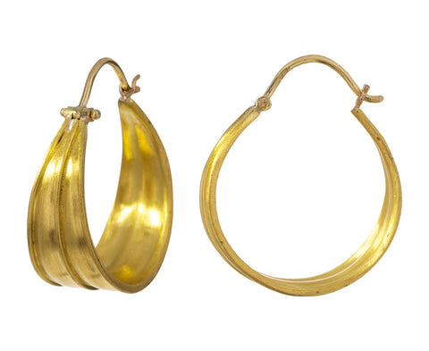 Laurel Hinged Hoop Earrings