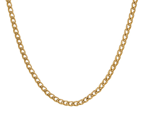 Solo Loop-in-Loop Chain Necklace