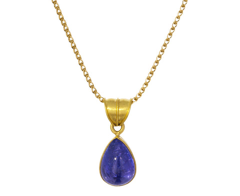 Tanzanite Tear Pendant ONLY