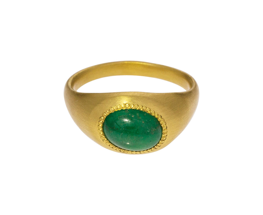 Emerald Roz Ring