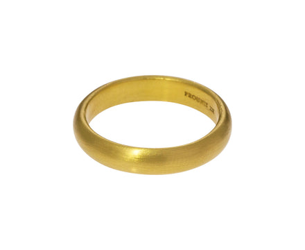 4mm Gold Vow Band - TWISTonline