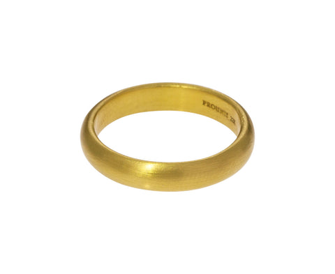 4mm Gold Vow Band