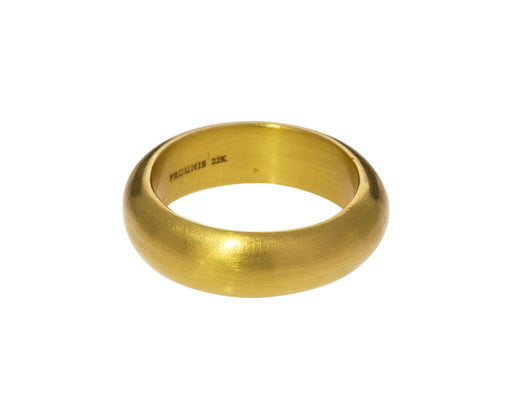 6mm Gold Vow Band