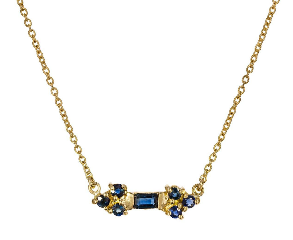 Sapphire Color Stick Necklace - TWISTonline