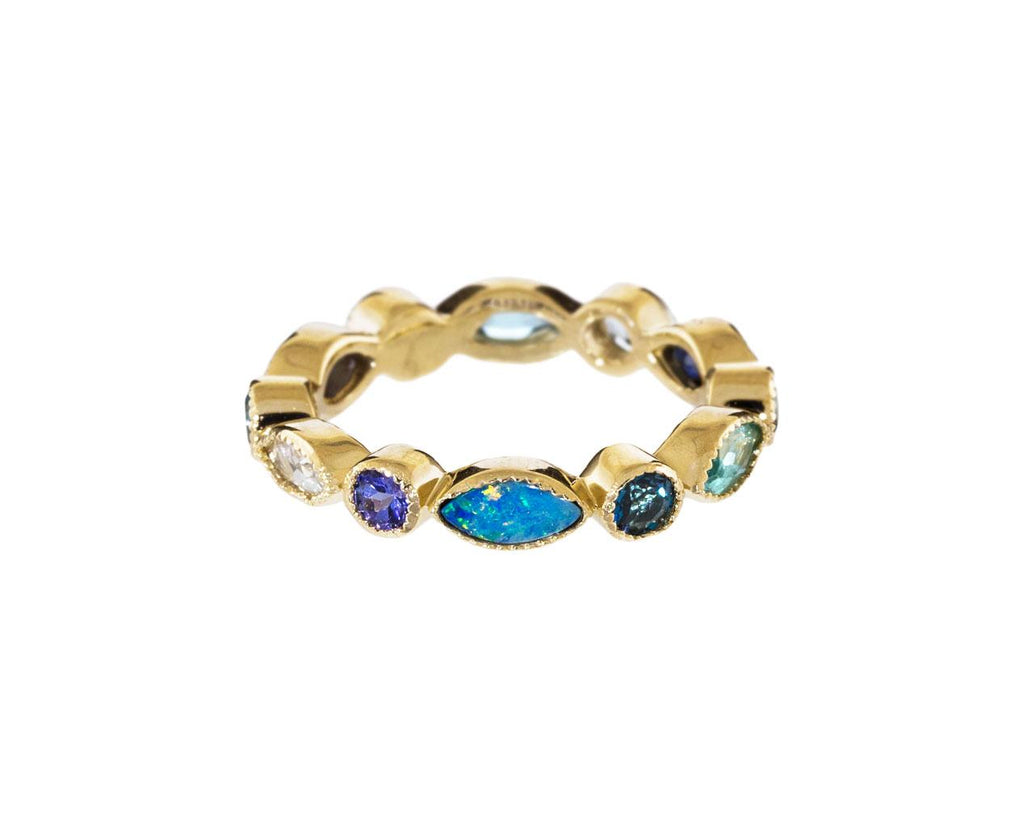 Multi-Gem Marquise Eternity Band - TWISTonline