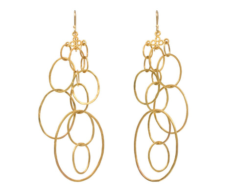 Infinity Loop Earrings zoom 1