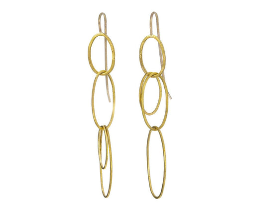 Triple Long Oval Earrings - TWISTonline