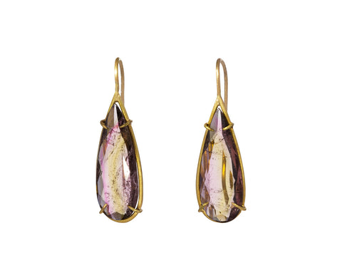 Teardrop Tourmaline Earrings - TWISTonline