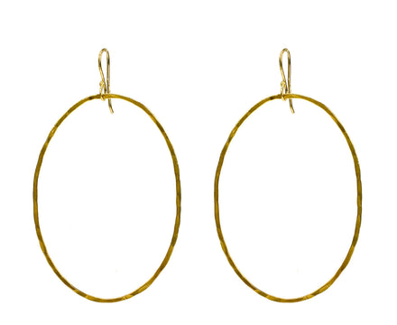 Large Oval Earrings - TWISTonline