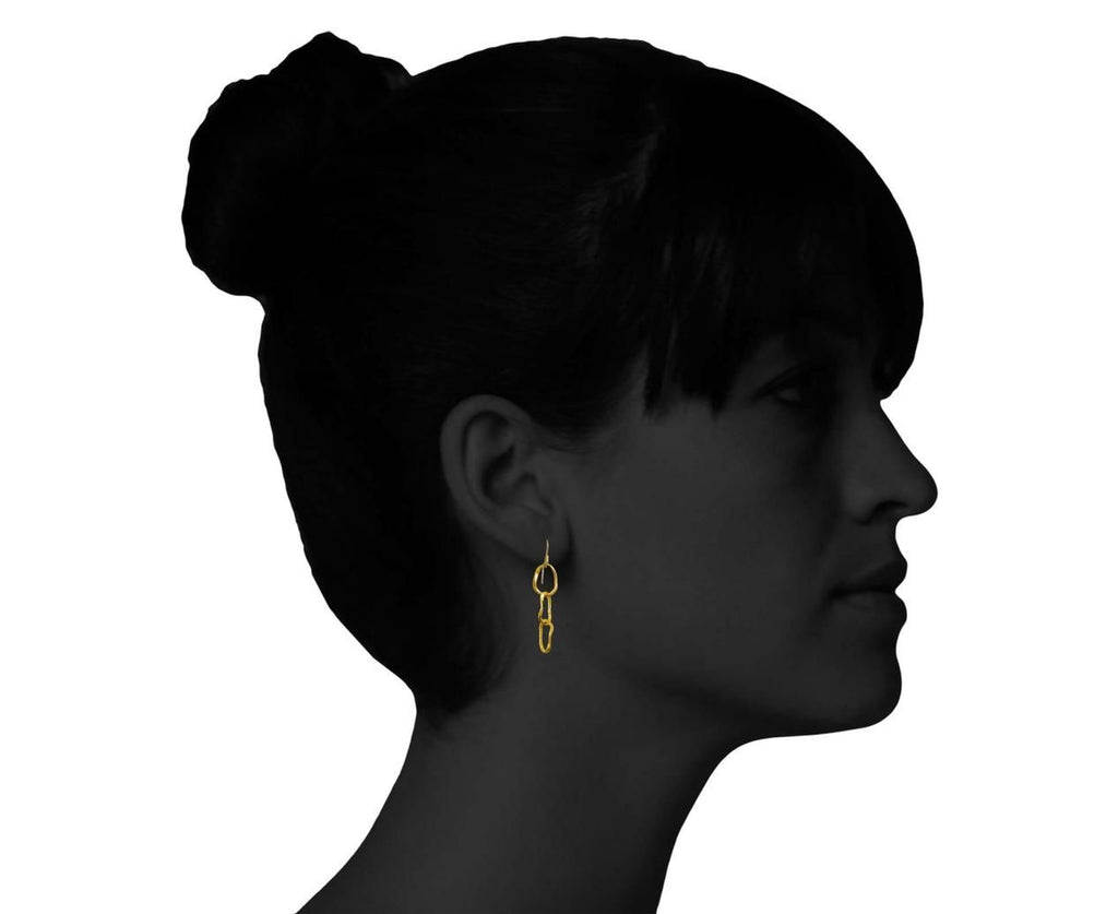 Triple Pebble Earrings - TWISTonline
