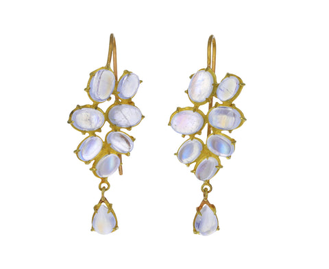 Moonstone Florette Earrings