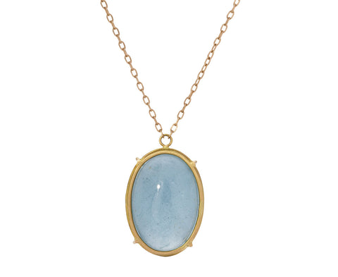 Aquamarine Pendant Necklace - TWISTonline