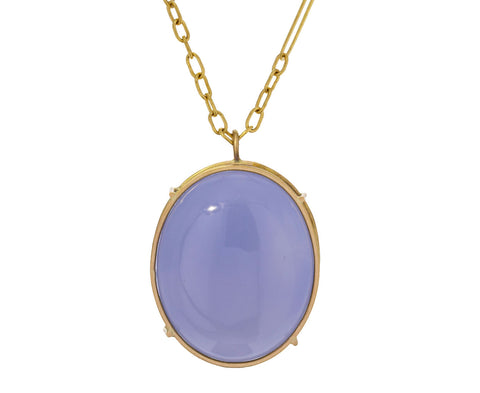 Chalcedony Pendant Necklace - TWISTonline