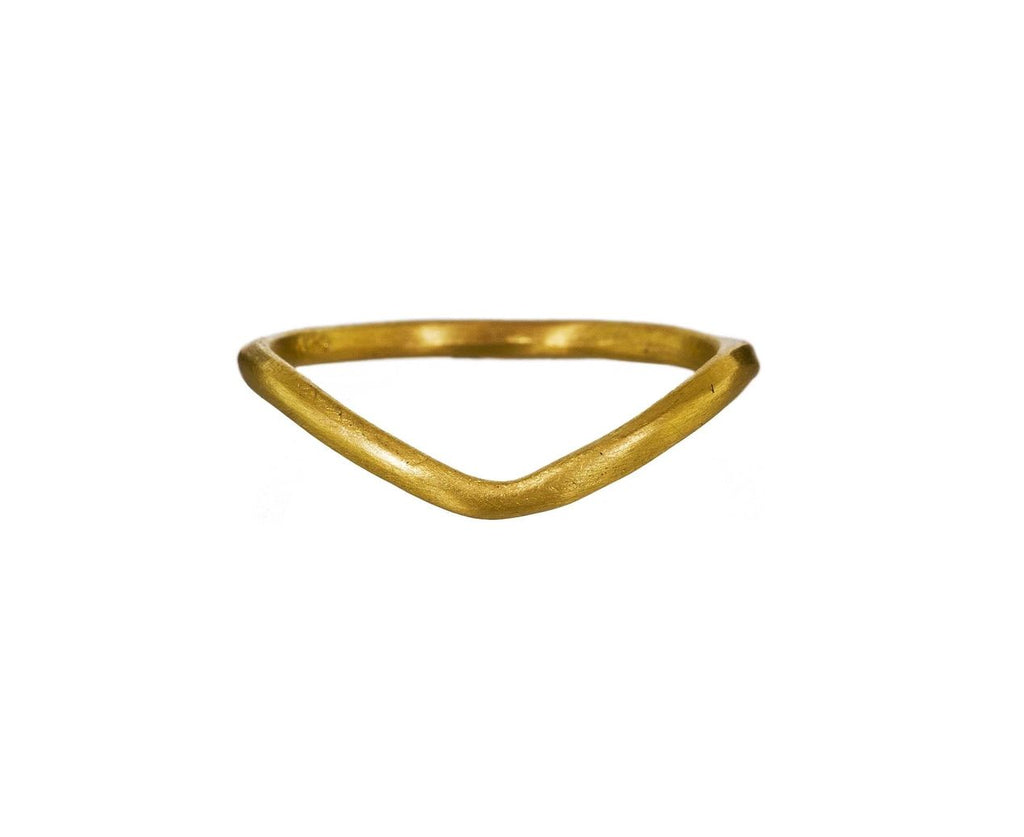 Curved Gold Band - TWISTonline