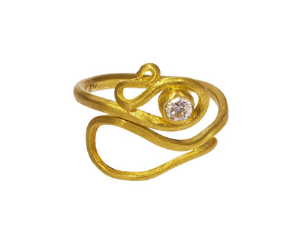 Diamond Serpent Ring - TWISTonline