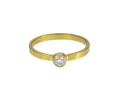 Diamond Solitaire Band - TWISTonline