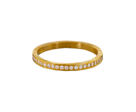 Pavé Diamond Band - TWISTonline