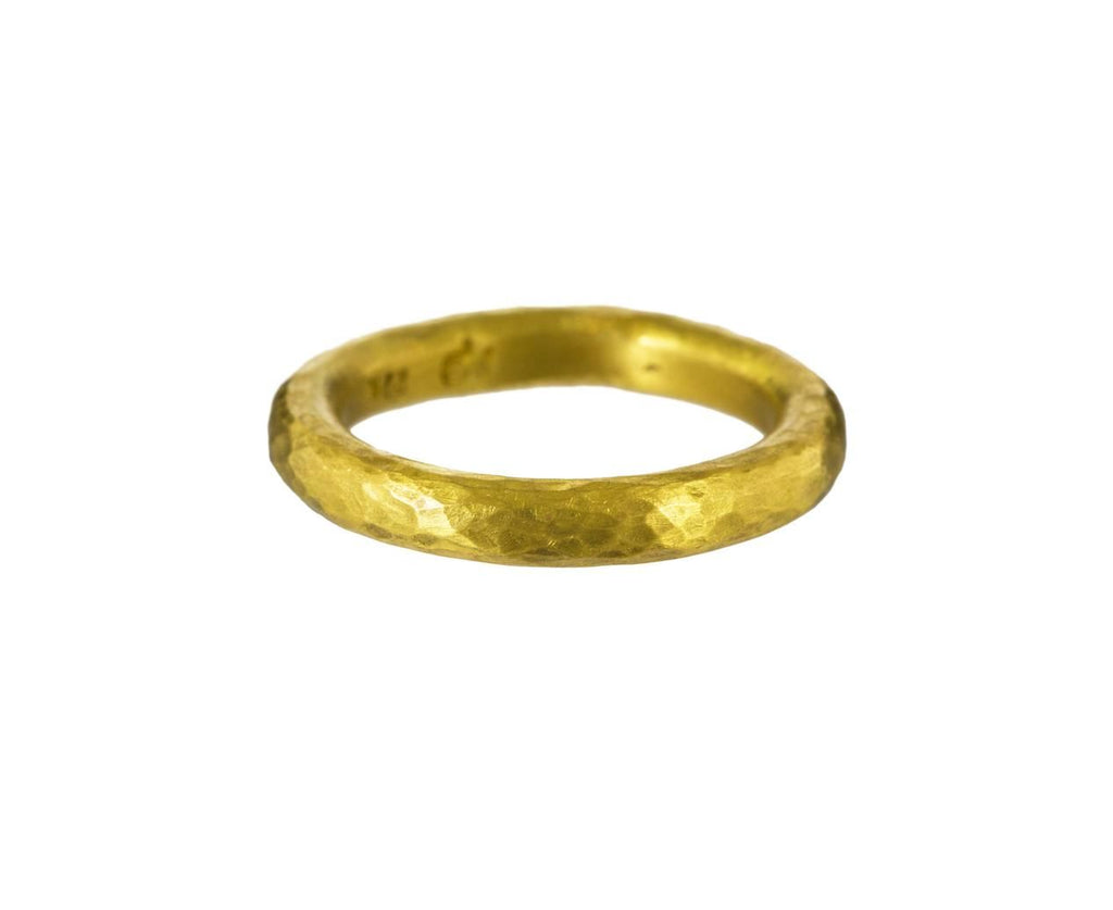 Gold Tubular Band  zoom 1_rosanne_pugliese_gold_wide_tubular_ring