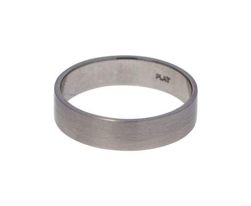 Platinum Men's Wedding Band