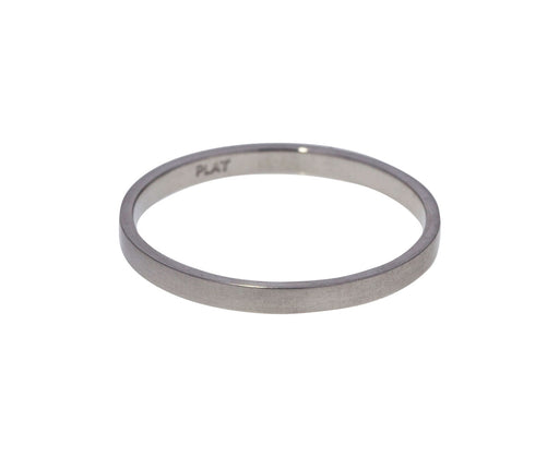 Thin Platinum Men's Wedding Band - TWISTonline