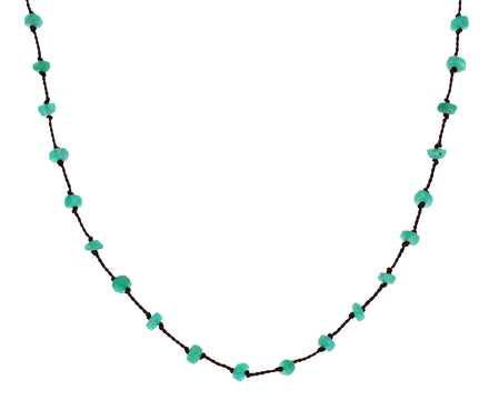 Emerald Beaded Necklace